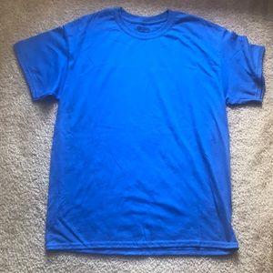 Gildan Dry Blend Blue Crew neck tee